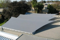 Waterproof shade sails 2012