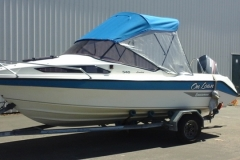 Boat Canopy Blue Hawkes Bay