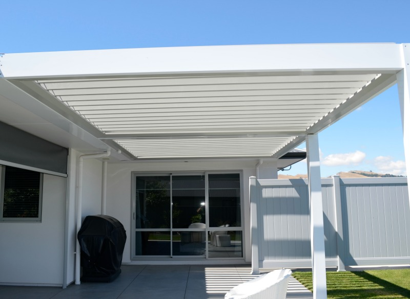 Rain Guards For Trucks >> Louvre Roof Systems | Hawkes Bay | Douglas Outdoor Living