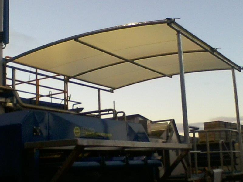Industrial Canopy & Protective Canopies | PVC Protective Covers | Hawkes Bay