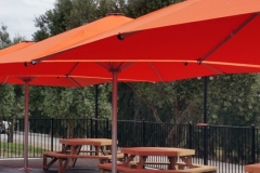 Hawkes Bay Shade 7 Orange Umbrella