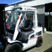 Forklift Clear Screens