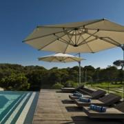 Shade 7 Umbrella Poolside