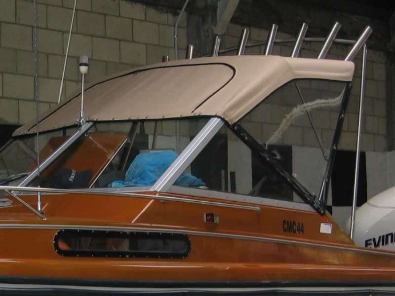 Revitalising A Classic With New Boat Canopy And Captain S