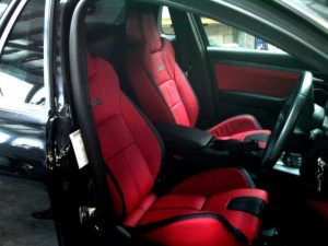 Commodore Leather Seats