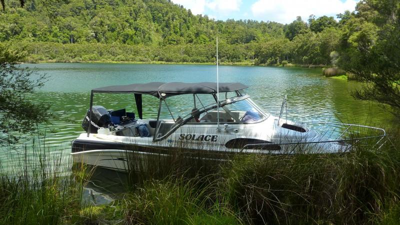 Hawkes Bay Boat Camping Package