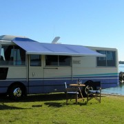 caravan and camper canvas awnings
