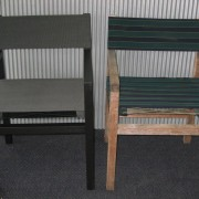 Canvas Repairs Reupholstered chairs