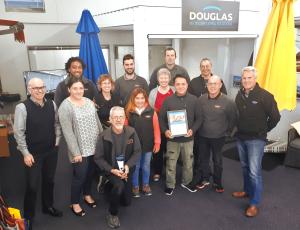 Douglas Marine Fabrication Award - Team Photo